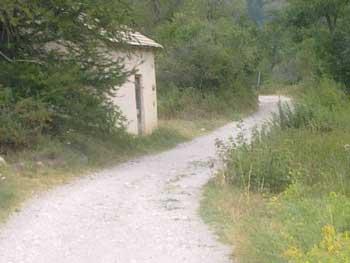 Le Gr 54 entre le Mônetier-les-Bains et Le Casset