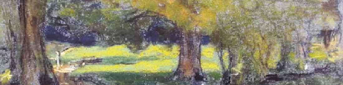 Peinture de Vuillard - Détail